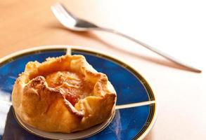 tarta de manzana pequeña foto