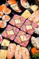 Colorful of Sushi bento