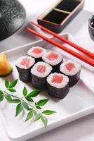 sushi hossomaki foto