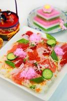 sushi chirashi