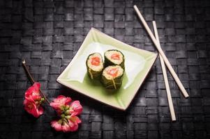 sushi vegetariano foto