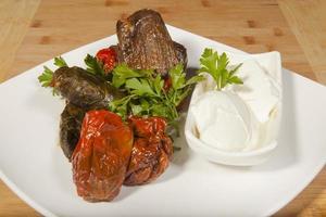 sarma turco y dolma