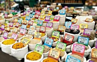 Cereals and spices photo