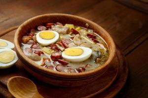 Traditional polish Easter soup Zurek photo