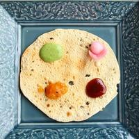 Indian Poppadums & Pickles