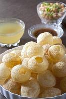 Pani Puri, Golgappe, Chat item, India photo