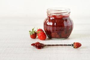 Strawberry jam photo