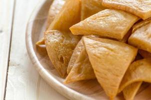 tofu frito, tofu frito foto
