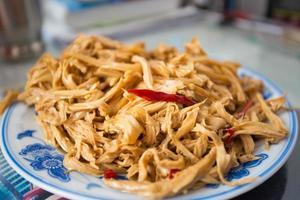 chile tofu de seda foto