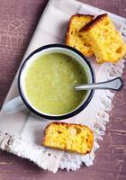 Broccoli soup photo