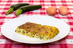 zucchini pudding photo