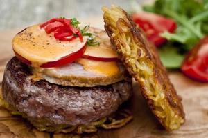 hamburger di ramen