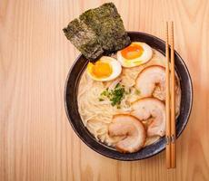 Japanese Ramen Noodles photo