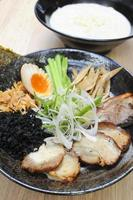Japanese noodle soup photo