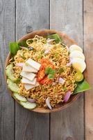 Malaysian style maggi goreng mamak photo