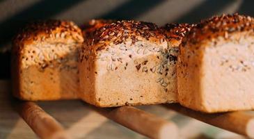 Seeds bread photo
