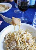 Fettuccine with truffle photo