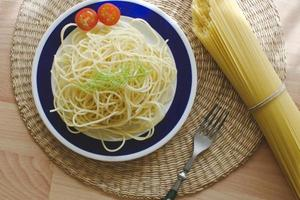 Spaghetti-no sauce