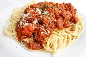 tasty pasta photo