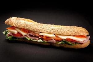 sandwich de baguette
