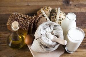 pães na cesta