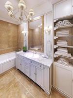 interior del baño provenzal foto