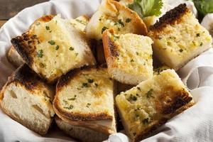 Homemade Crunchy Garlic Bread photo