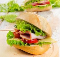 Fresh  sandwich photo