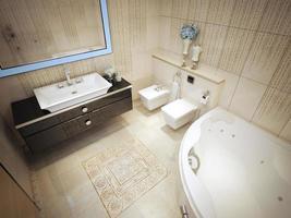 salle de bain de style avant-gardiste