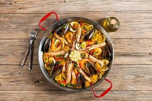 Spanish paella photo