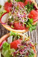 salade met grapefruit.
