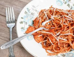 italian spaghetti photo