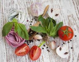 Healthy ingredients photo
