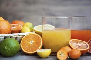 jugo de cítricos
