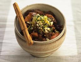 Grapefruit and Beef Tagine photo
