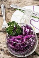 salad of fresh vegetables