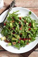 Nutritious vegetable salad photo