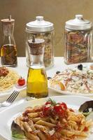verschillende pasta
