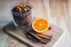 crema de chocolate foto