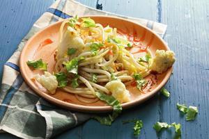 pasta met bloemkool