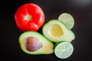 ingredientes de ensalada foto