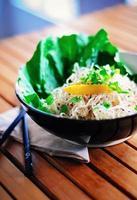 Raw pad thai noodles
