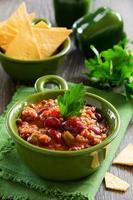 chili con carne mexicano foto
