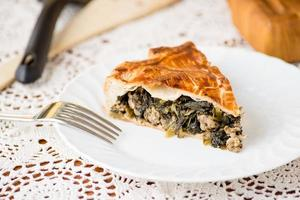 Pie with vegetables