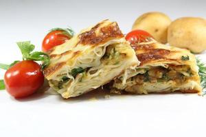Turkish Borek isolated