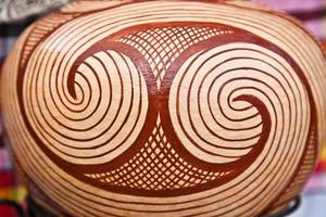 Ancient pottery of Ban Chiang, Udon Thani Thailand photo