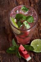 limonada de melancia caseira
