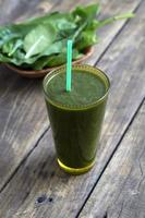 Spinach smoothie photo