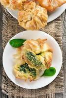 Vegetable spinach pie
