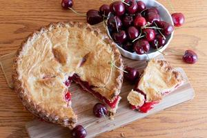 Golden Cherry Pie